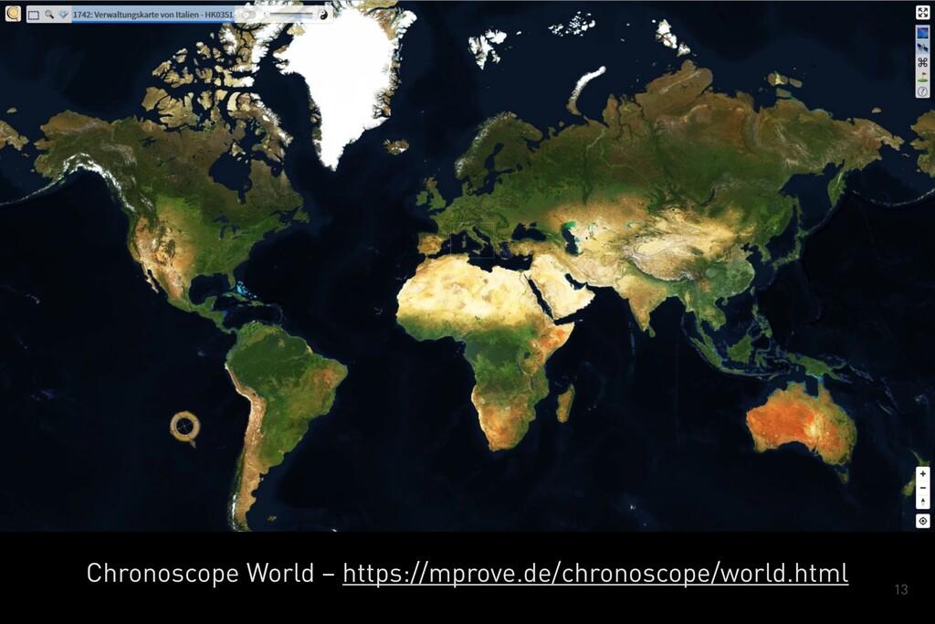 13 Chronoscope World – https://mprove.de/chrono...