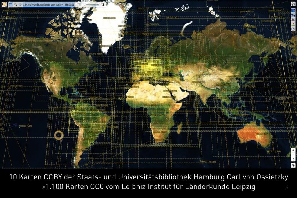 14 10 Karten CCBY der Staats- und Universitätsb...