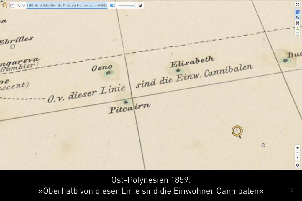 16 Ost-Polynesien 1859: »Oberhalb von dieser L...