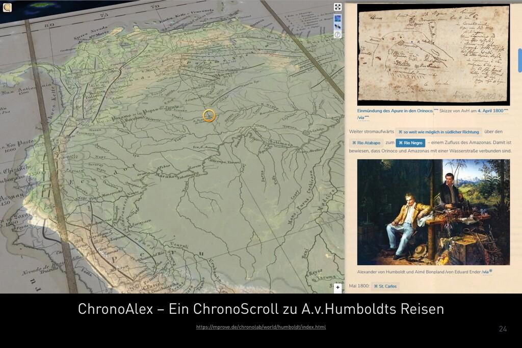 24 ChronoAlex – Ein ChronoScroll zu A.v.Humbold...