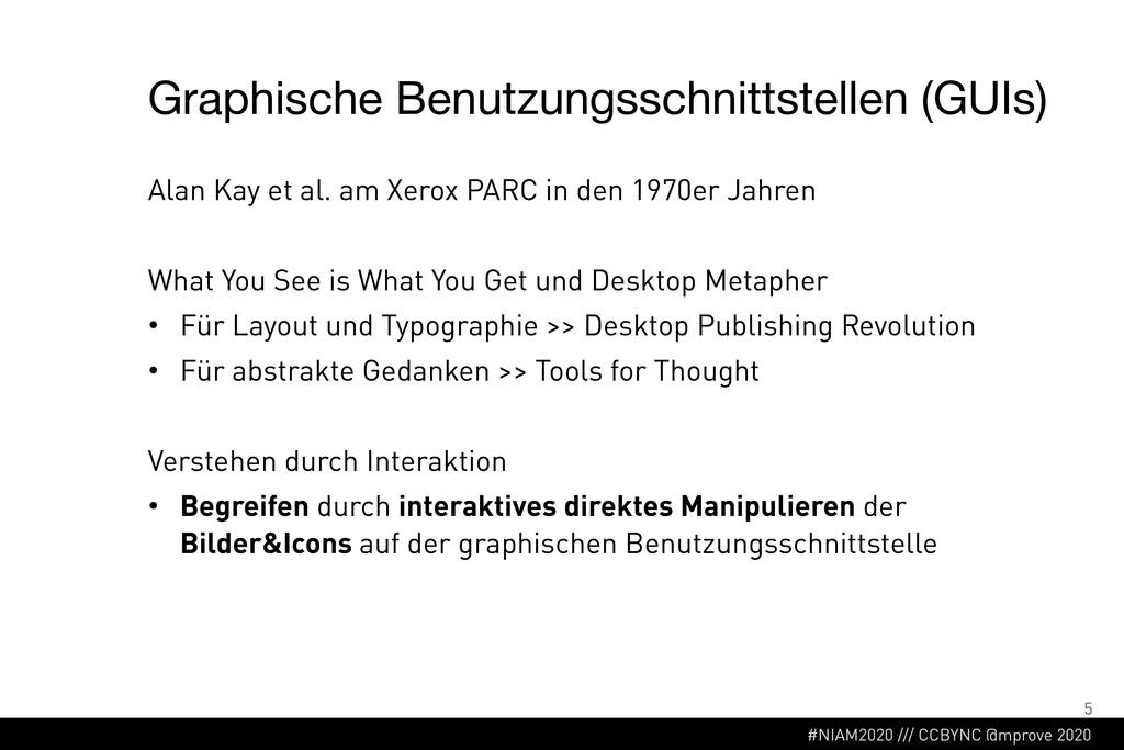 #NIAM2020 /// CCBYNC @mprove 2020 Graphische Be...