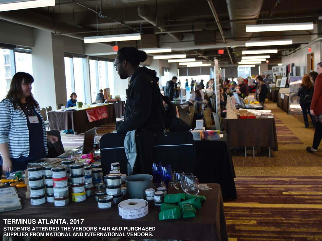 TERMINUS ATLANTA, 2017 STUDENTS ATTENDED THE VE...