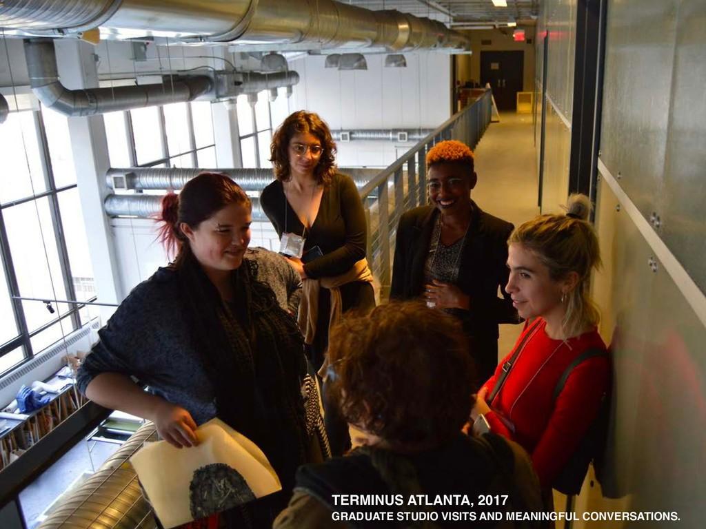 TERMINUS ATLANTA, 2017 GRADUATE STUDIO VISITS A...