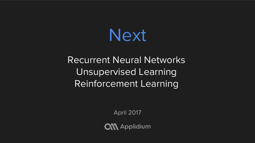 Next Recurrent Neural Networks Unsupervised Lea...