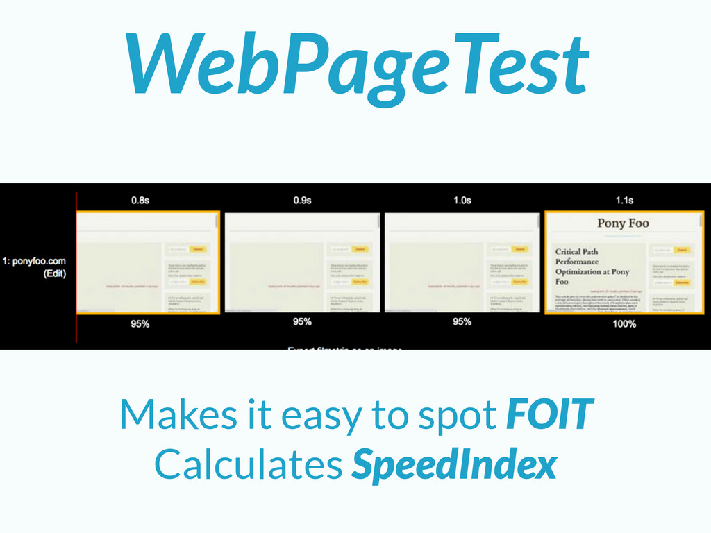 WebPageTest Makes it easy to spot FOIT Calculat...