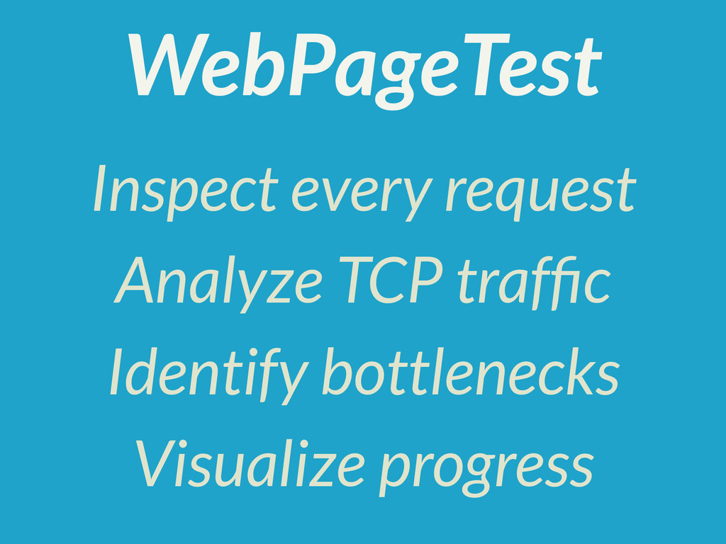 Inspect every request Analyze TCP traffic Identi...