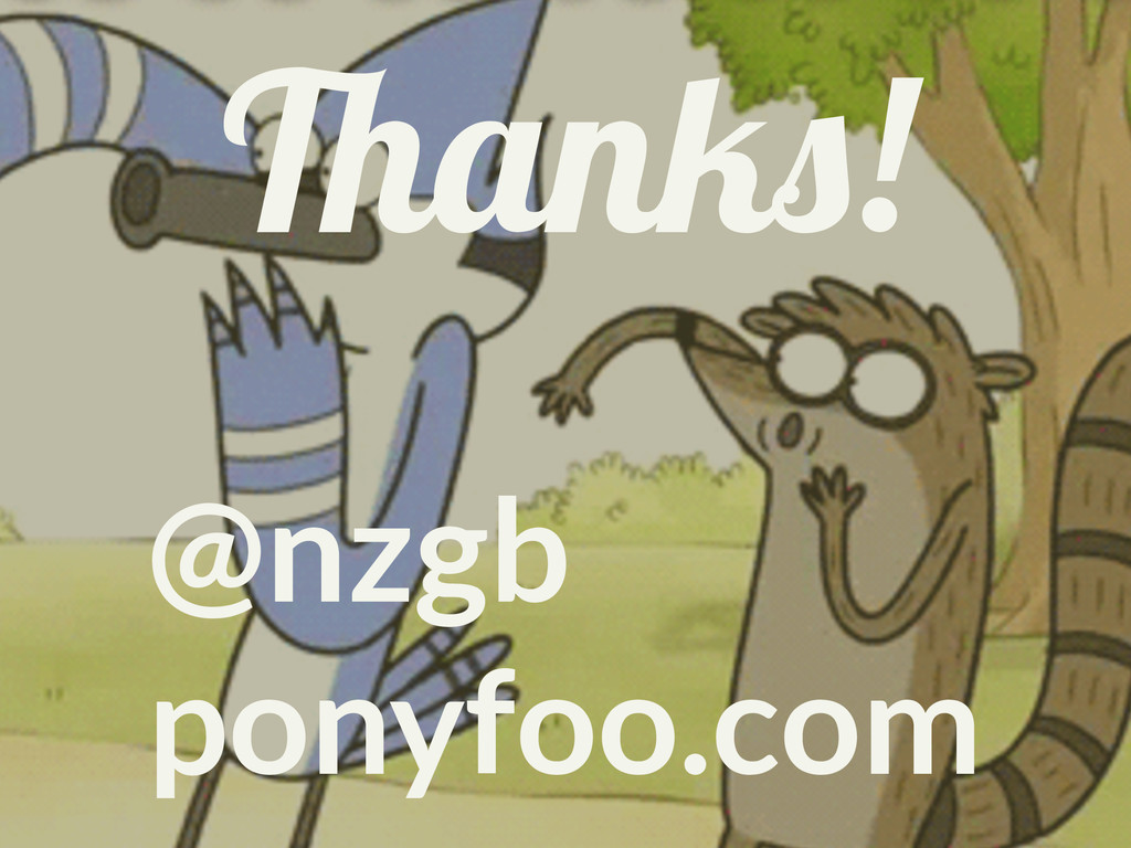 Thanks! @nzgb ponyfoo.com