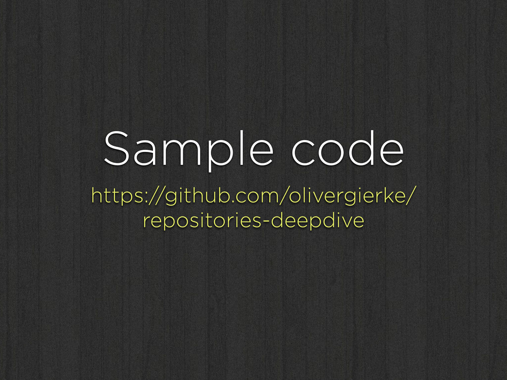 Sample code https://github.com/olivergierke/ re...