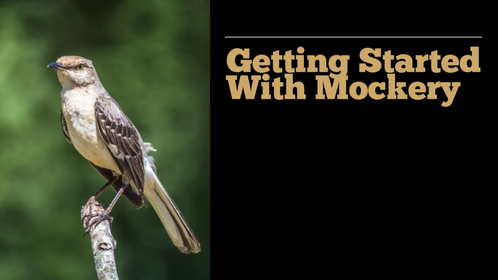 Getting Started With Mockery