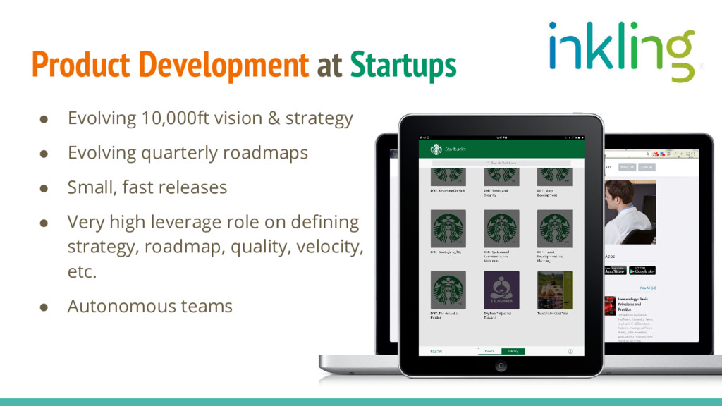 Product Development at Startups ● Evolving 10,0...