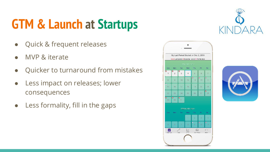 GTM & Launch at Startups ● Quick & frequent rel...