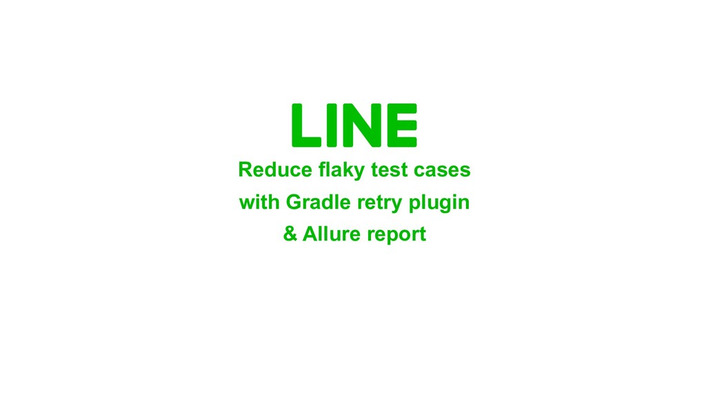 Reduce flaky test cases with Gradle retry plugi...