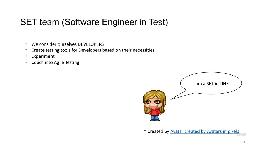 SET team (Software Engineer in Test) 3 • We con...