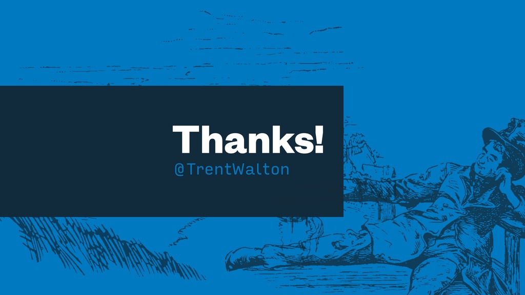 Thanks! @TrentWalton