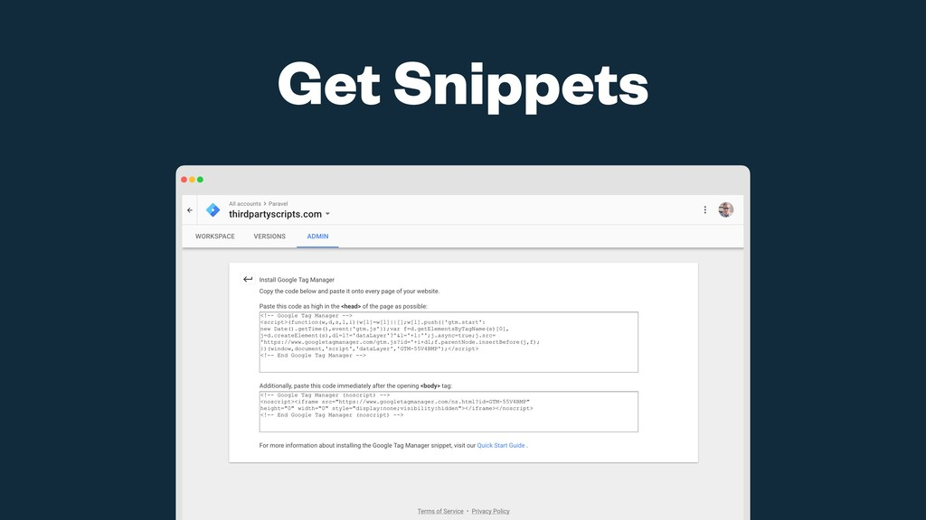 Get Snippets