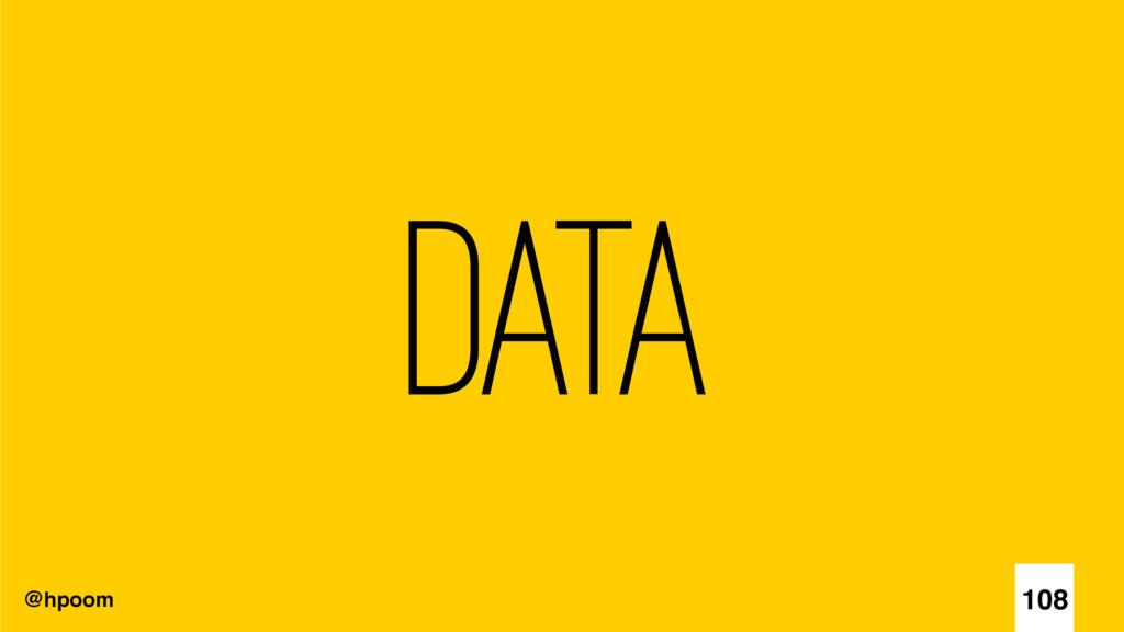 @hpoom Data 108