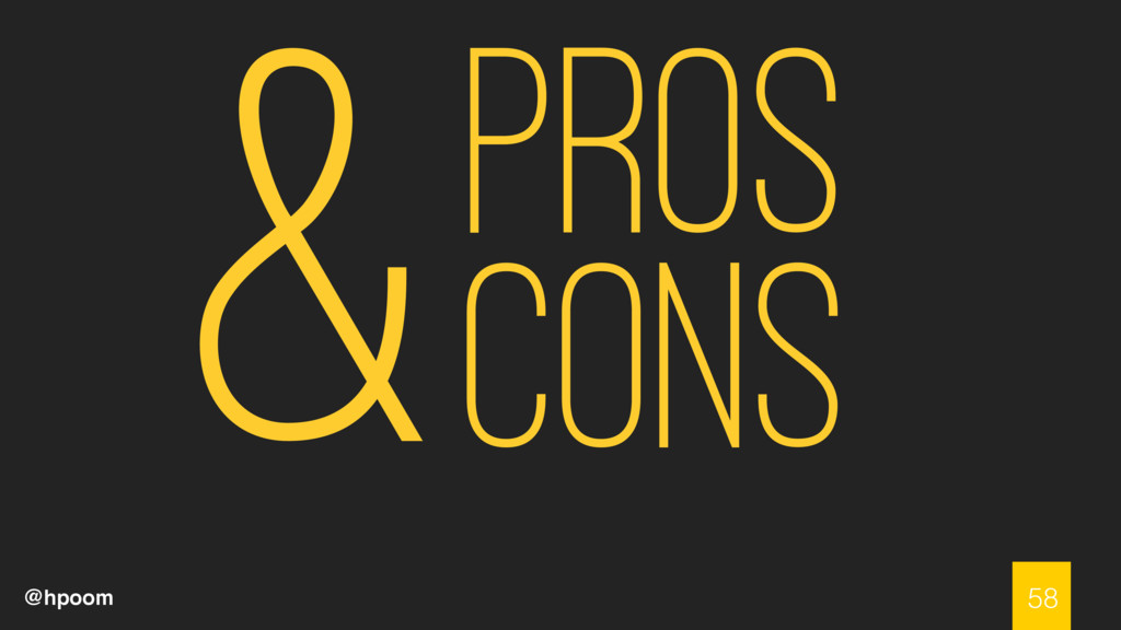 @hpoom Pros Cons 58 &