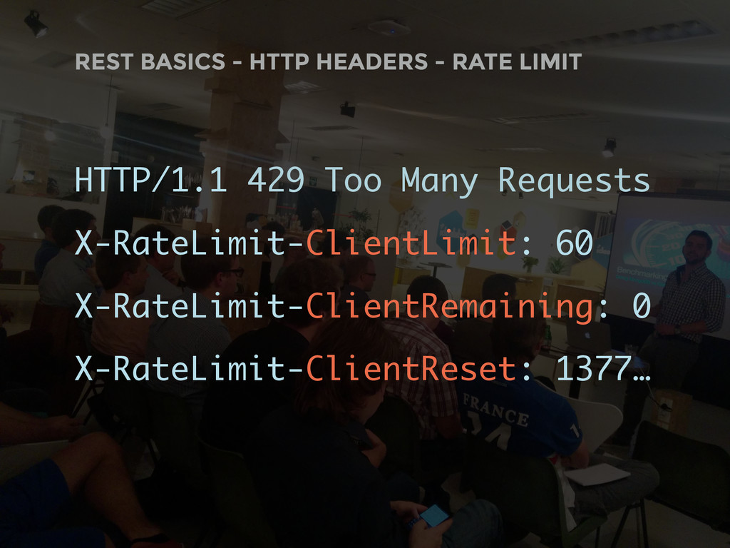 HTTP/1.1 429 Too Many Requests X-RateLimit-Clie...