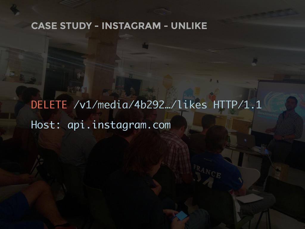 CASE STUDY - INSTAGRAM - UNLIKE DELETE /v1/medi...