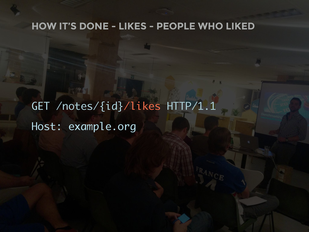 HOW IT'S DONE - LIKES - PEOPLE WHO LIKED GET /n...