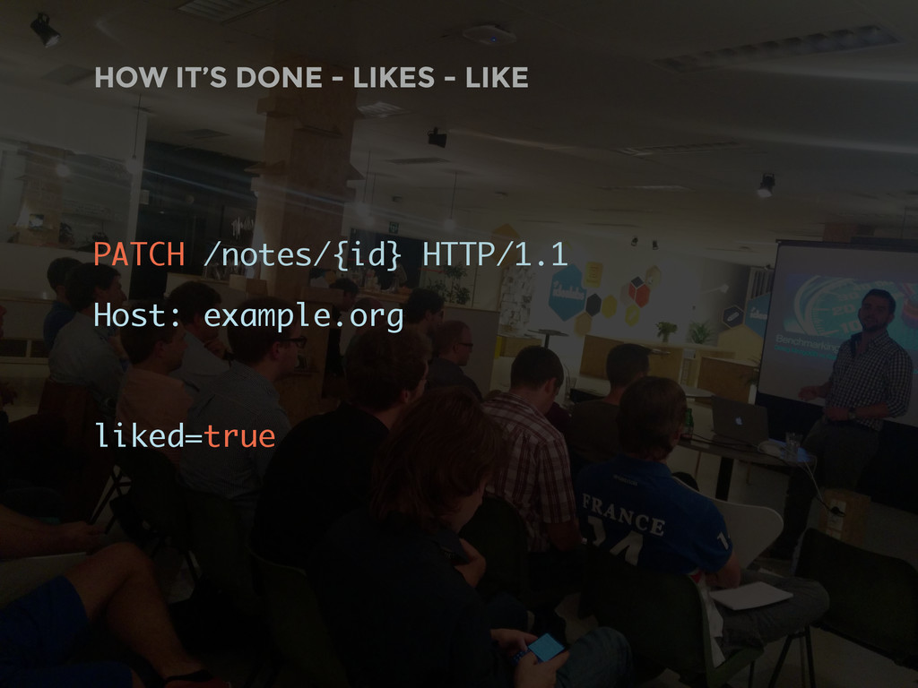 HOW IT'S DONE - LIKES - LIKE PATCH /notes/{id} ...