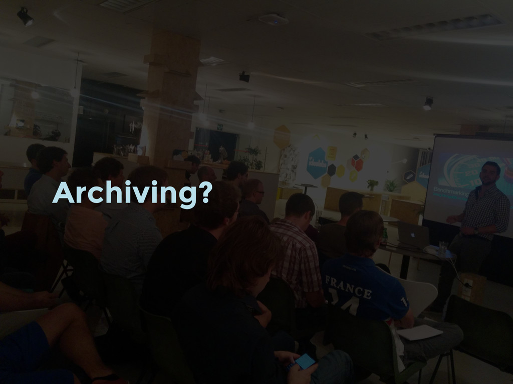 Archiving?