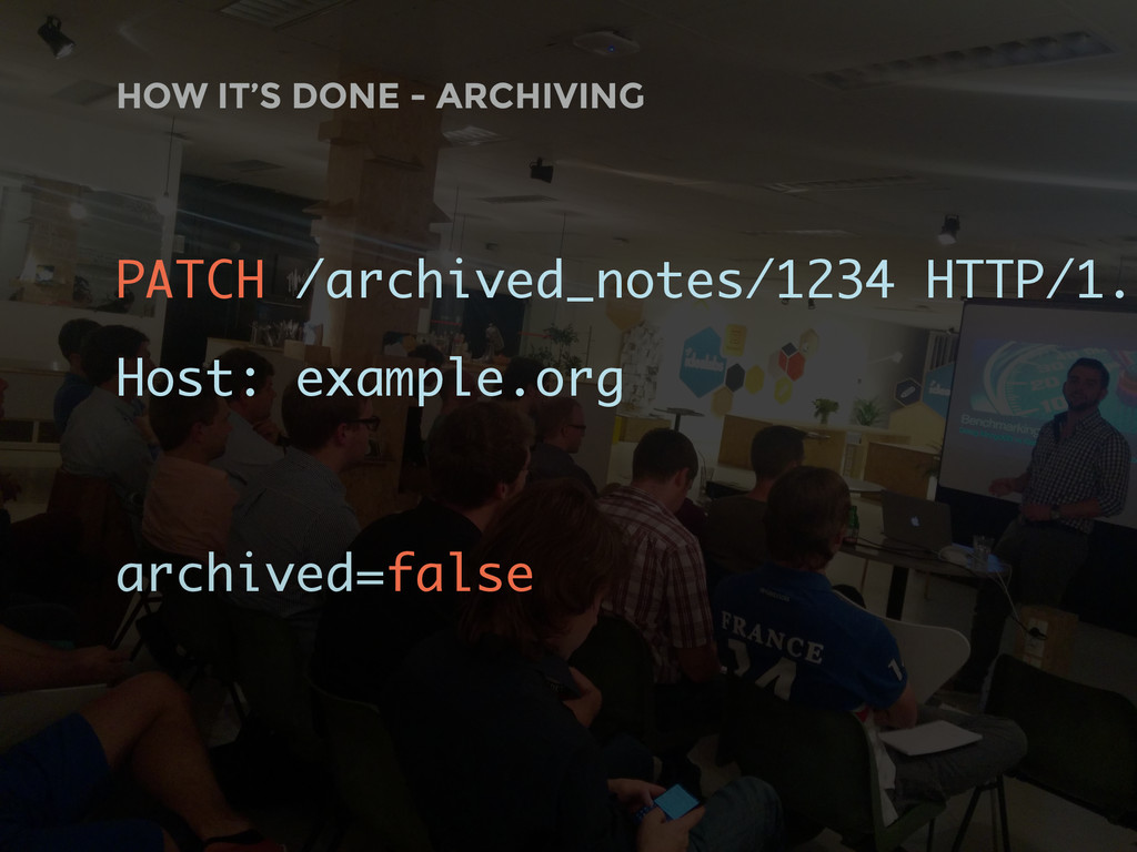 HOW IT'S DONE - ARCHIVING PATCH /archived_notes...
