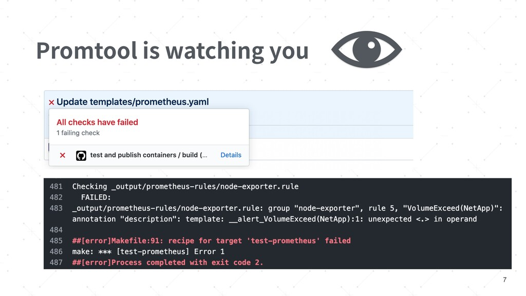 Promtool is watching you 7