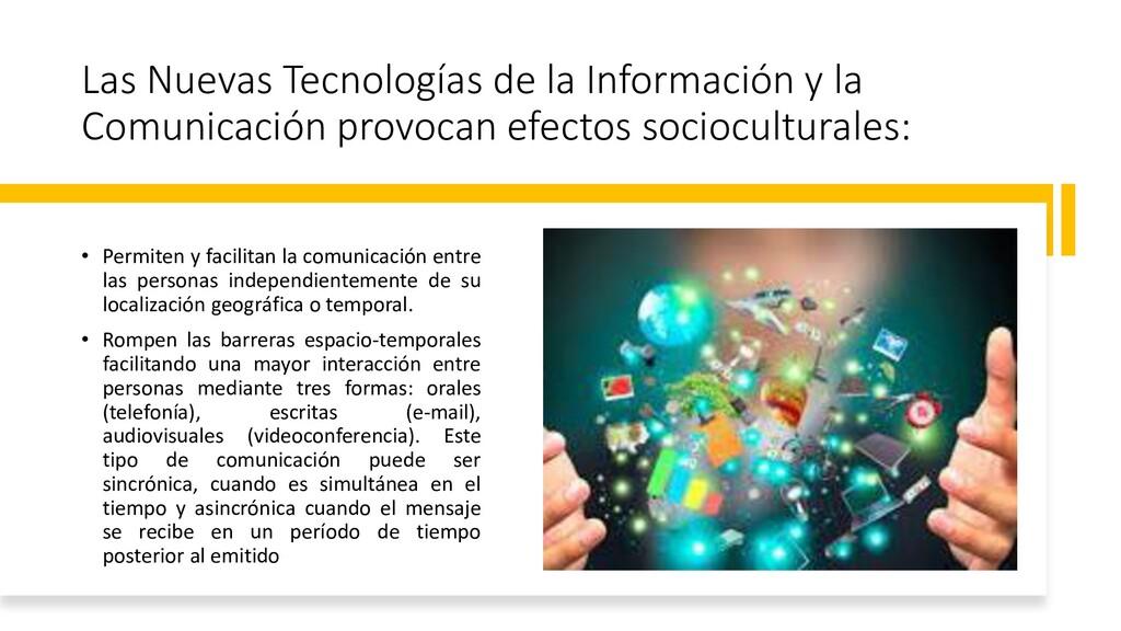 Las Nuevas Tecnologías de la Información y la C...