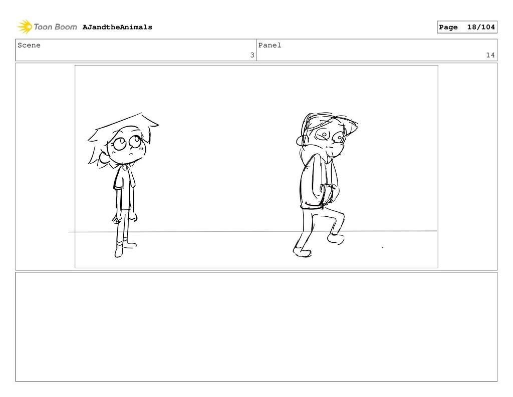 Scene 3 Panel 14 AJandtheAnimals Page 18/104