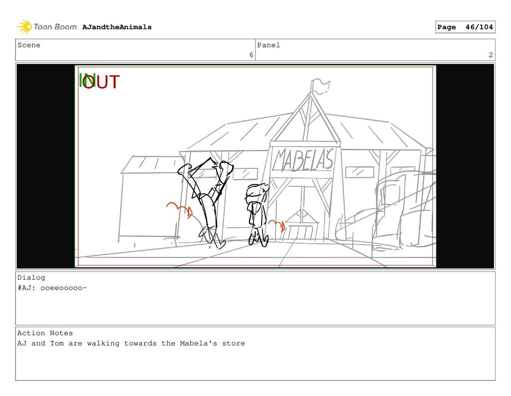Scene 6 Panel 2 Dialog #AJ: ooeeooooo- Action N...