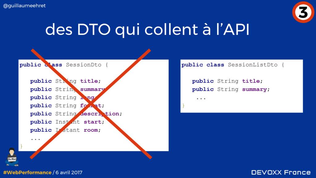#WebPerformance / 6 avril 2017 @guillaumeehret ...