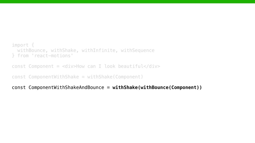 import { 