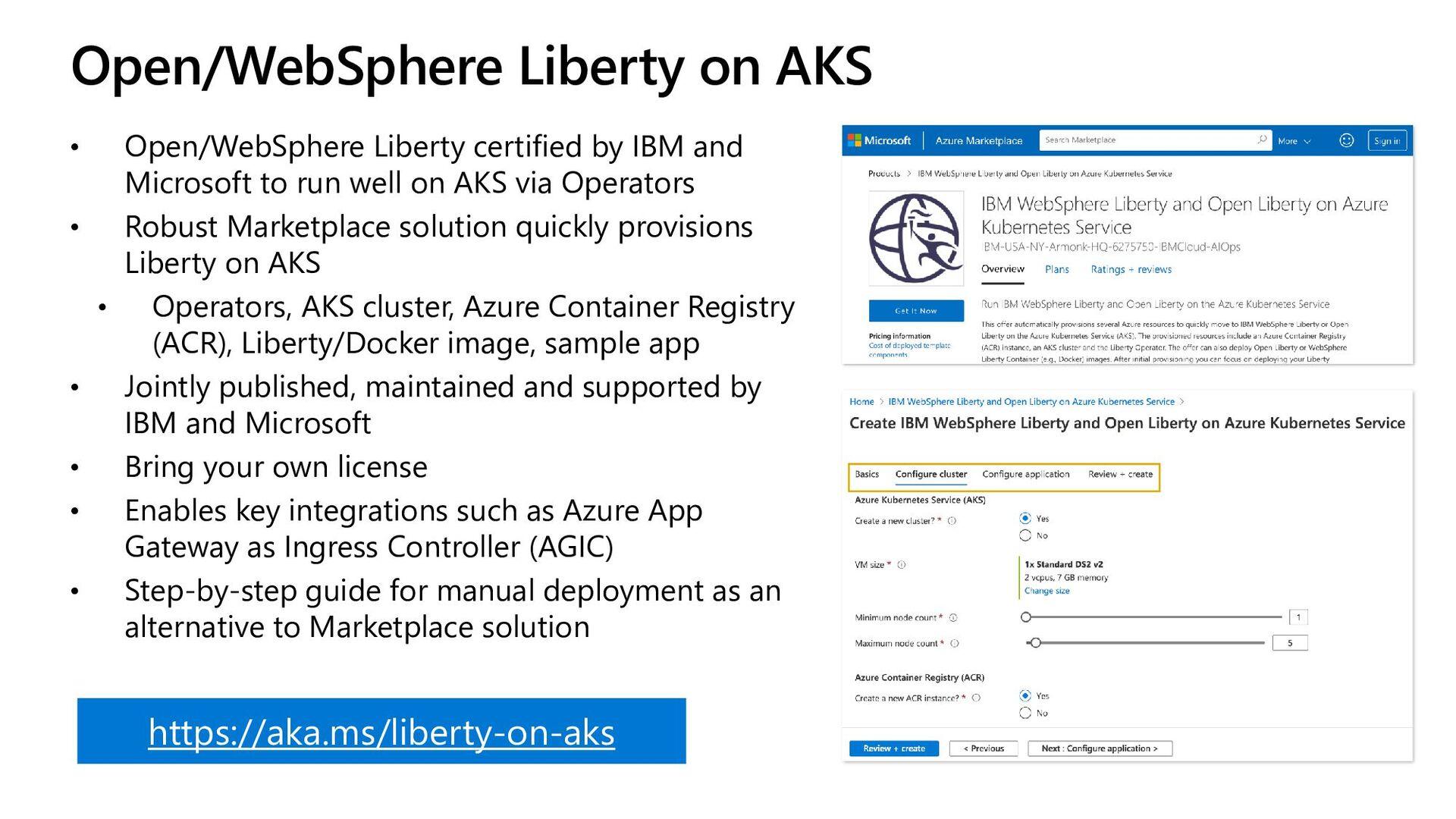 OpenShift • OpenShift provides uniform higher-l...