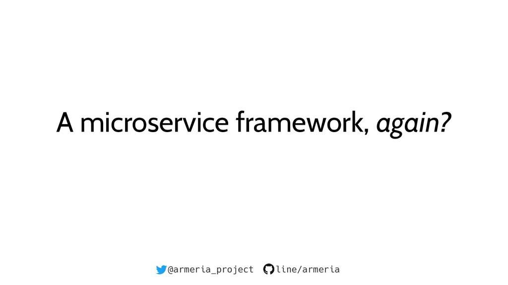 @armeria_project line/armeria A microservice fr...