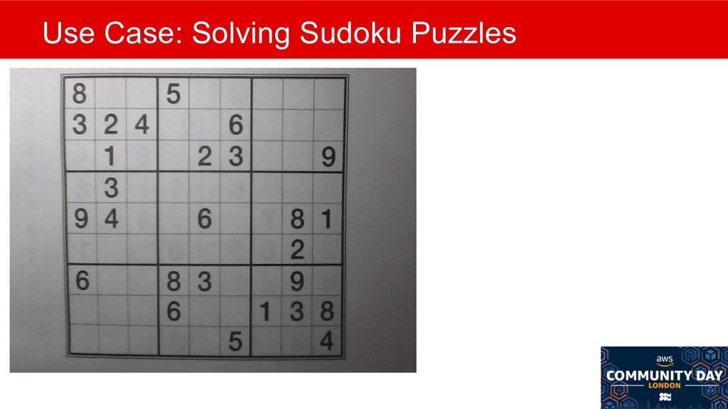 @mlfowler_ @Claranet Use Case: Solving Sudoku P...