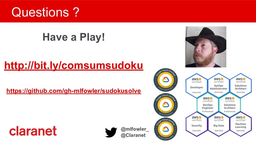 @mlfowler_ @Claranet Questions ? Have a Play! h...