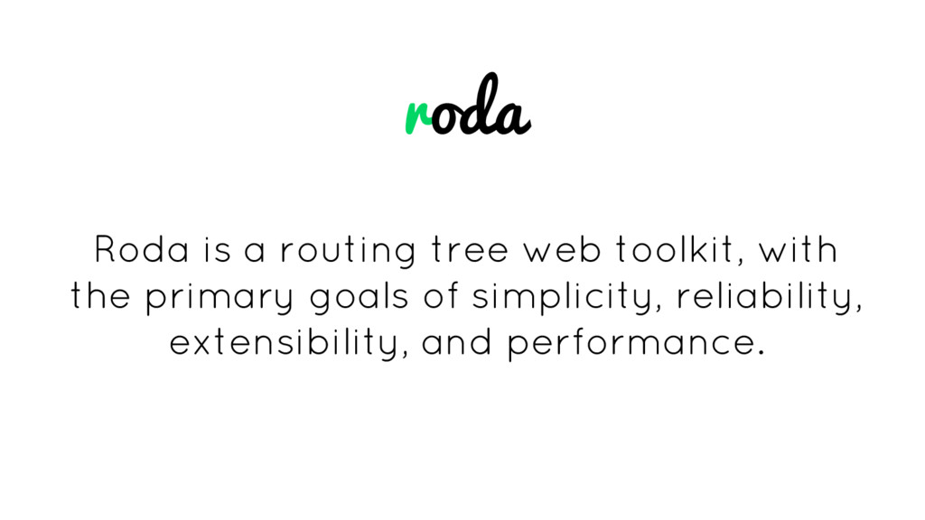 roda Roda is a routing tree web toolkit, with t...