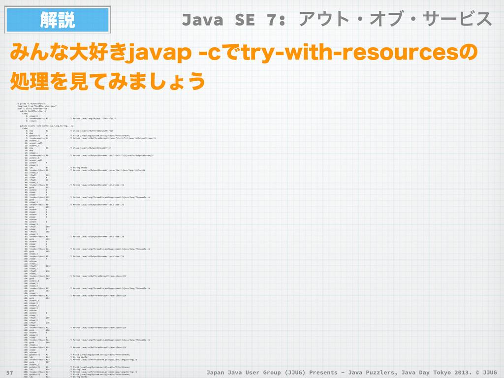 Japan Java User Group (JJUG) Presents - Java Pu...