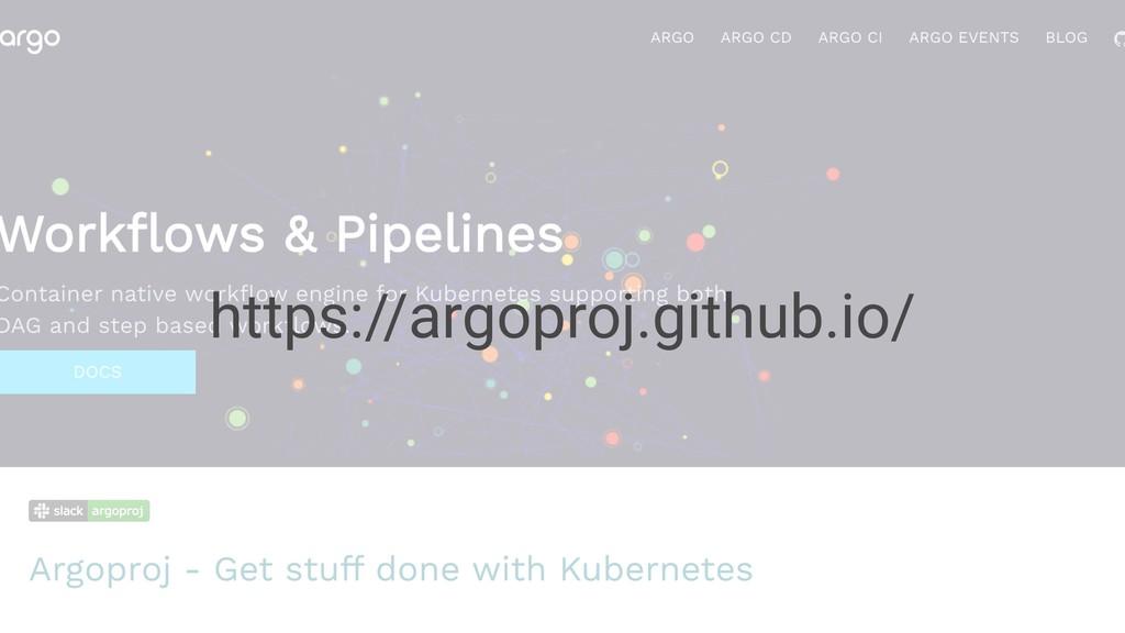 https://argoproj.github.io/