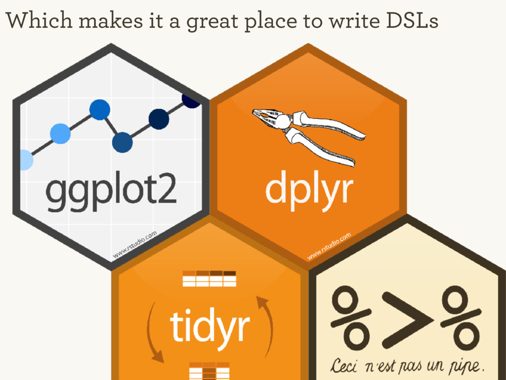 Which makes it a great place to write DSLs