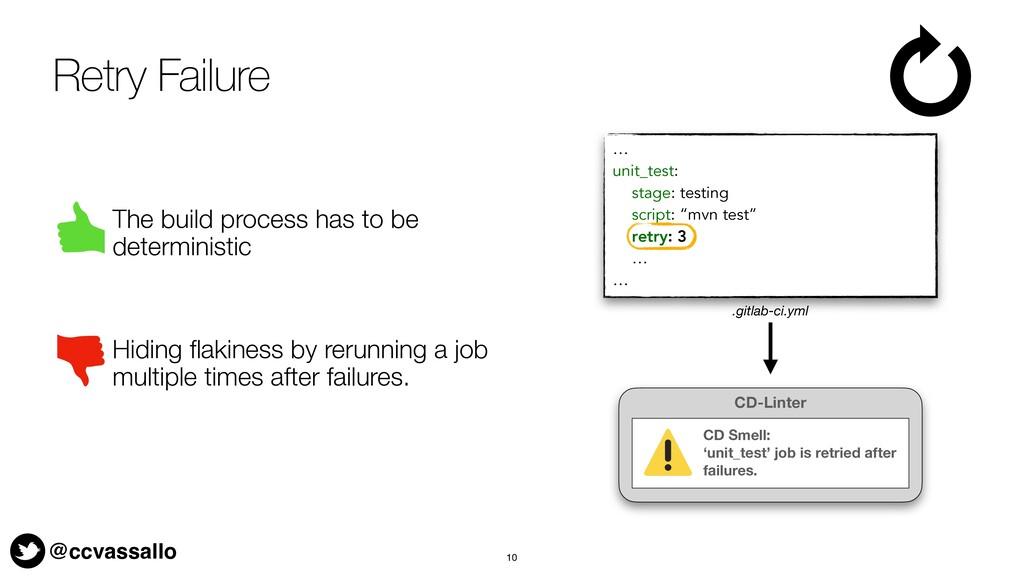 @ccvassallo Retry Failure The build process has...