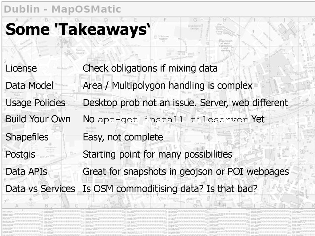 Some 'Takeaways' License Check obligations if m...