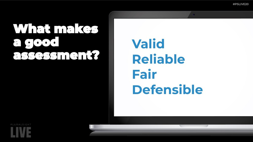 Valid Reliable Fair Defensible