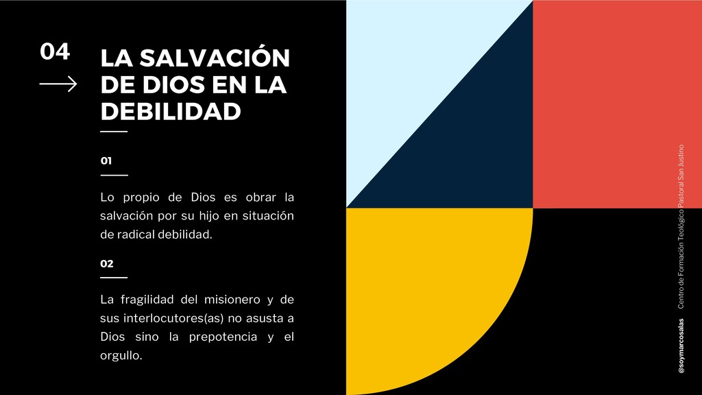 LA SALVACIÓN DE DIOS EN LA DEBILIDAD 04 Lo prop...