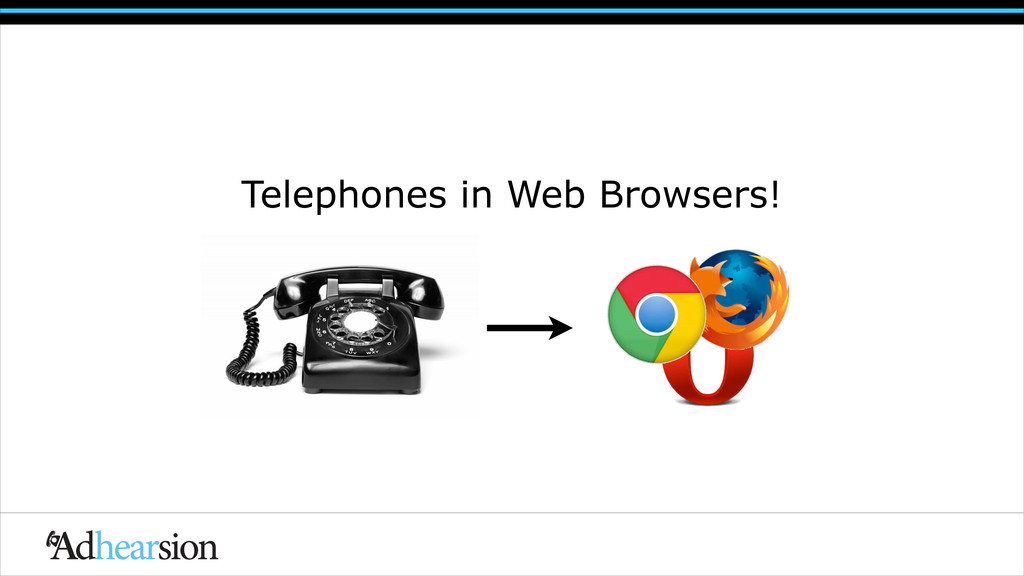 Telephones in Web Browsers!