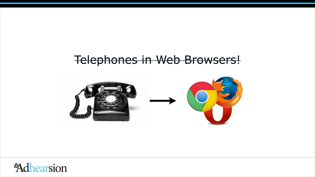 Telephones in Web Browsers! Telephones in Web B...
