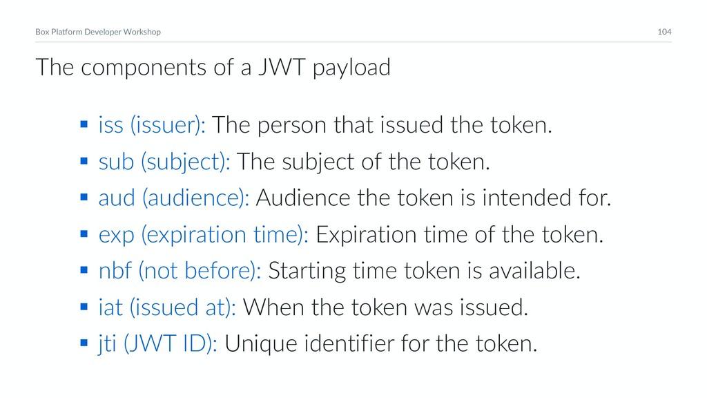 104 Box Platform Developer Workshop § iss (issu...