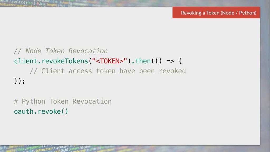 57 Box Platform Developer Workshop // Node Toke...