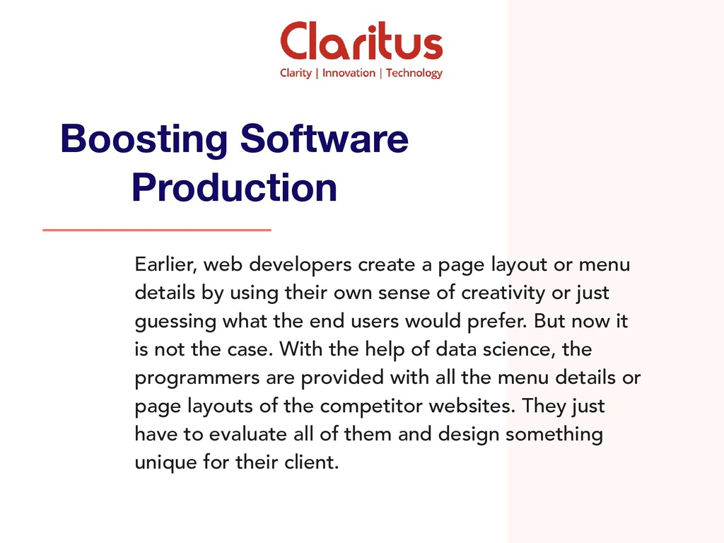 Earlier, web developers create a page layout or...
